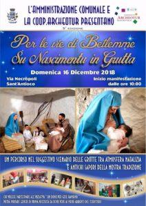 """Domenica 16 dicembre, a Sant'Antioco, torna l'appuntamento con """"Su Nascimentu in grutta""""."""