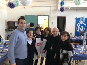 270 persone hanno partecipato al pranzo di Natale di Sant'Egidio a Muravera, presenti il vescovo mons. Antioco Piseddu ed i sindaci di Muravera, San Vito e Villaputzu.