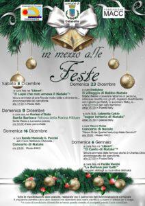 Il comune di Calasetta presenta gli eventi di Natale: musica, fiabe e divertimento.