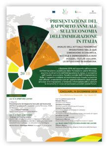 Venerdì, a Cagliari, verrà presentato il Rapporto annuale sull'economia dell'Immigrazione in Italia.