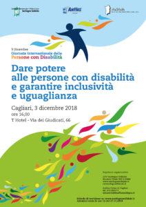 Sardegna Solidale,AnffaseAsapassieme, lunedì 3 dicembre, a Cagliari, per celebrare laGiornata internazionale delle persone con disabilità.