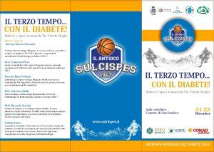 """Il 21 e 22 dicembre, in concomitanza con la Giornata mondiale del diabete, Sant'Antioco ospiterà il convegno """"Il Terzo tempo…con il Diabete!""""."""
