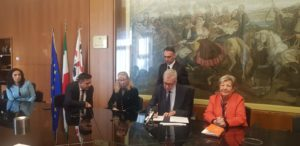 E' stato siglato oggi, a Villa Devoto, un accordo di collaborazione per l'attivazione, nelle procure sarde, di 40 tirocini per neo laureati in materie giuridiche ed economiche.