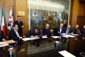 Sono stati ricevuti oggi, nella sede della presidenza della Regione, a Villa Devoto, a Cagliari, i vincitori del secondo bando del progetto Terra ai giovani.