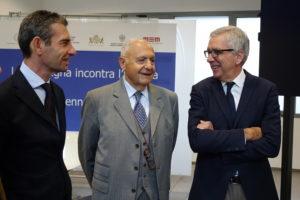 """Il ministro per le Politiche europee Paolo Savona, stamane ha partecipato, a Cagliari, al convegno """"La Sardegna incontra l'Europa""""."""
