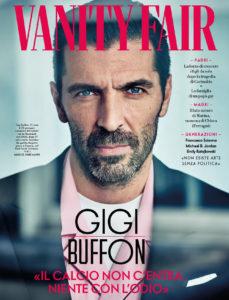 """Gianluigi Buffon a Vanity Fair: """"Non date al calcio la colpa dell'odio""""."""