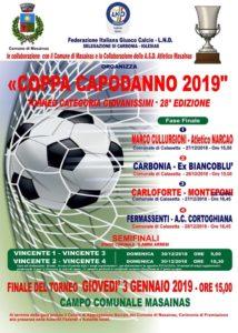 Carbonia e Monteponi sono le squadre finaliste della 28ª edizione della Coppa Capodanno.