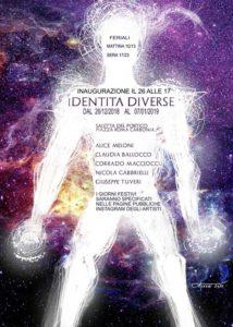 """Fino al 7 gennaio è visitabile, presso la Saletta del Portico di piazza Roma, la mostra """"Identità diverse""""."""