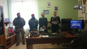 Una maxi operazione dei carabinieri della Compagnia di Carbonia ha portato all'esecuzione di 14 ordinanze di applicazione di misure cautelari per vari reati.
