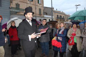 """Domani, 4 gennaio, in Piazza Fiume, a Sassari, una nuova edizione delle """"Passeggiate di Enrico Costa""""."""