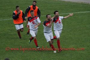 Giornata quasi trionfale per le squadre sulcitane, la prima di ritorno del girone A del campionato di Promozione.