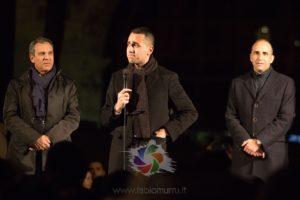 Si è conclusa questa sera a Cagliari, con un comizio in piazza San Cosimo, la giornata in Sardegna del vicepremier e ministro dello Sviluppo economico e del Lavoro Luigi Di Maio.