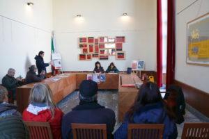 """Stamane, nella sala riunioni della Torre Civica, a Carbonia, è stata presentata la rassegna """"Bacu Abis Teatro 2019″."""