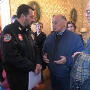 Il ministro dell'Interno Matteo Salvini ai Riformatori sardi: «Mi occuperò del problema accise nel Consiglio dei ministri».