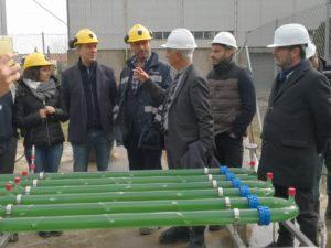 E' stato inaugurato questa mattina, a Nuraxi Figus, nella miniera di Monte Sinni, l'impianto sperimentale per la produzione dell'alga Spirulina.