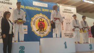 """Marco Battino (Centro sportivo Guido Sieni di Sassari) si è classificato al secondo posto nel trofeo internazionale di judo """"Alpe Adria""""."""