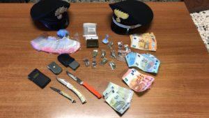 I carabinieri di Decimomannu hanno arrestato un 18enne con l'accusa di spaccio di sostanze stupefacenti.