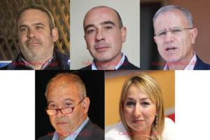Dovrebbero essere cinque i consiglieri regionali espressione del Sulcis Iglesiente eletti domenica 24 febbraio, tre candidati nelle liste della circoscrizione di Carbonia Iglesias, due in quella di Cagliari.