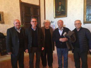 Una delegazione della Consulta Anziani di Iglesias ha incontrato il Magnifico Rettore dell'Università di Cagliari, Maria Del Zompo.