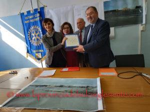 Il Rotary Club Carbonia ha donato all'ATS – ASSL Carbonia un progetto per la realizzazione di un'elisuperficie.