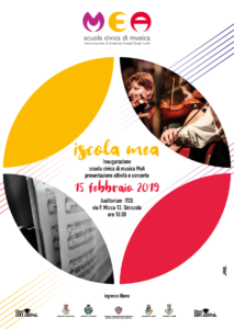 MeA, la scuola civica di musica intercomunale di Siniscola, Posada, Torpè, Lodè, terrà l'evento inaugurale domani, 15 febbraio, a Siniscola.