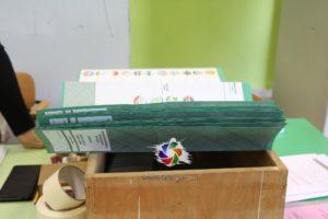 A Carbonia si sono concluse le operazioni di spoglio delle schede nella prima sezione, la n° 13 delle scuole elementari di via Liguria.