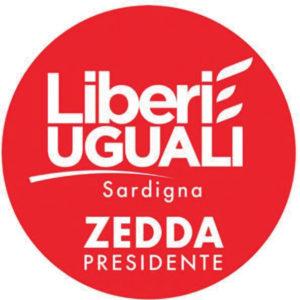 Le preferenze dei 4 candidati della lista di Liberi e Uguali Sardigna Zedda Presidente nella circoscrizione di Carbonia Iglesias.