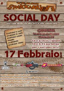 """Si svolgerà domenica 17 febbraio, a Carbonia, il """"Social Day 2019"""", manifestazione ciclistica a scopo benefico."""