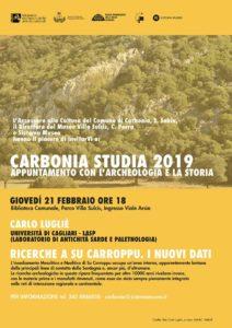 Questa sera, nella biblioteca di Carbonia, verranno presentati i risultati delle ricerche eseguite presso il sito di Su Carroppu di Sirri dal team del professor Carlo Lugliè.