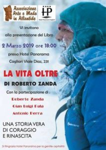 """Sabato 2 marzo, alle 18.00, all'Hotel Panorama di Cagliari, Roberto Zanda presenta il libro """"La vita oltre""""."""