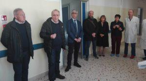 Sono stati presentati oggi i nuovi locali della Chirurgia generale dell'ospedale Santissima Annunziata di Sassari.