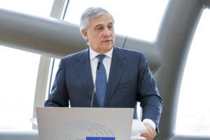 Antonio Tajani: «Il Parlamento europeo è in prima linea per contrastare ingerenze straniere nella campagna per le prossime elezioni».