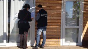 """Stamane i carabinieri del Comando Tutela Patrimonio Culturale (TPC), a Muravera, hanno sequestrato parte del villaggio turistico """"Tiliguerta Camping Village""""."""