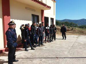 Nuovo sbarco di migranti (13) questa mattina, all'interno del poligono militare di Capo Teulada.