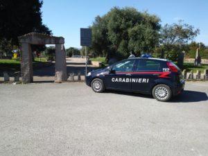 """I carabinieri di Giba hanno arrestato un 48enne disoccupato, sorpreso a spacciare droga nel parco """"Marco Pittoni""""."""