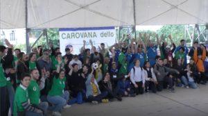 Anche Reggio Calabria ha salutato con entusiasmo la Carovana dello Sport Integrato.