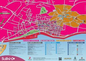 """Il Centro Commerciale Naturale Sulki, in collaborazione con il comune di Sant'Antioco, ha realizzato le nuove cartine turistiche """"Isola di Sant'Antioco""""."""
