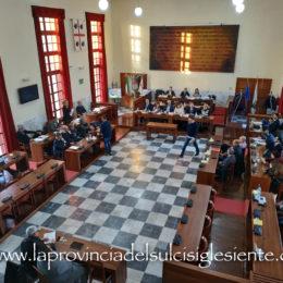 Il Consiglio comunale di Carbonia tornerà a riunirsi venerdì 19 giugno, dalle ore 18.15