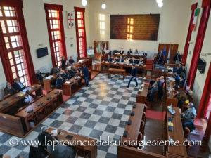 Nuova seduta del Consiglio comunale di Carbonia, martedì 30 aprile, alle 18.00.