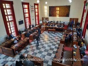 Giovedì 20 giugno torna a riunirsi il Consiglio comunale di Carbonia.