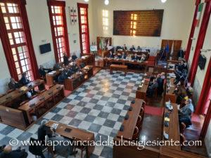 Giovedì 30 gennaio, alle 18.00, si riunisce il Consiglio comunale di Carbonia