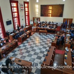 Il Consiglio comunale di Carbonia tornerà a riunirsi martedì 29 settembre