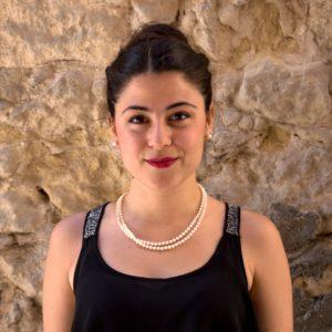 """È Francesca Pusceddu la vincitricedell'audizione 2019 riservata ai giovani cantanti sardi e organizzata dall'EnteConcerti """"Marialisa de Carolis""""di Sassari."""