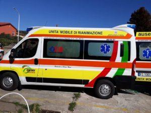 Domenica10 marzo, alle ore 11.00, in piazza Roma, a Carbonia, verrà inaugurata una nuova ambulanza destinata al servizio territoriale 118 dell'Auser.