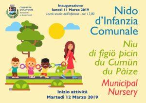 """Lunedì 11 marzo, a Carloforte, verrà inaugurato il nuovo servizio """"Nido d'Infanzia Comunale""""."""