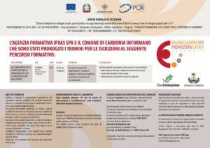 Sono state prorogate al 19 marzo le iscrizioni al percorso formativo organizzato da IFRAS spa sulle competenze per la promozione dei siti ed organizzazione degli eventi.