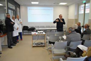 E' stato predisposto il progetto preliminare di adeguamento della struttura del Pronto Soccorso al piano terra del Santissima Annunziata e della Radiologia dell'Aou di Sassari.
