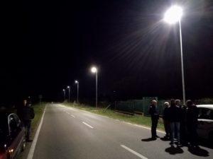 Ieri, giovedì 28 febbraio, a Iglesias, sono stati attivati gli impianti di illuminazione pubblica in via Paolo Borsellino.