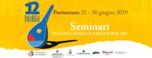 Dal 25 al 30 giugno, a Portoscuso, si terranno iseminari di canto, musica e danza popolare, momento cardine della programmazione della dodicesima edizione diMare e Miniere.