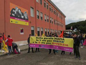 In quattromila in piazza del Carmine a Cagliari per la 24ª Giornata della Memoria e dell'Impegno in ricordo delle vittime innocenti delle mafie.
